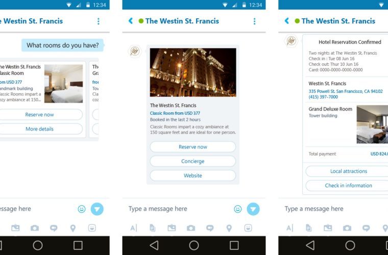 Microsoft Bot Framework updated with cards, groups and more 12