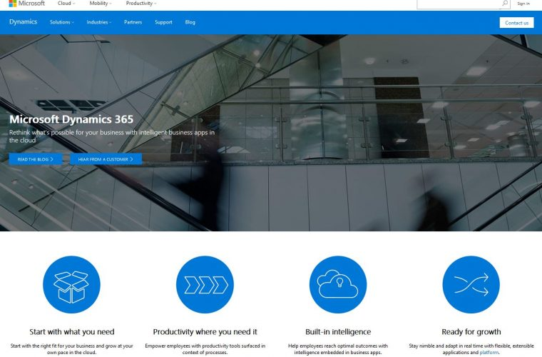 Microsoft combines its CRM and ERP cloud offerings into the new Dynamics 365 8