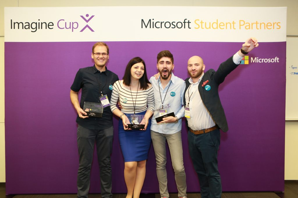Microsoft Imagine Cup 2016 World Champion