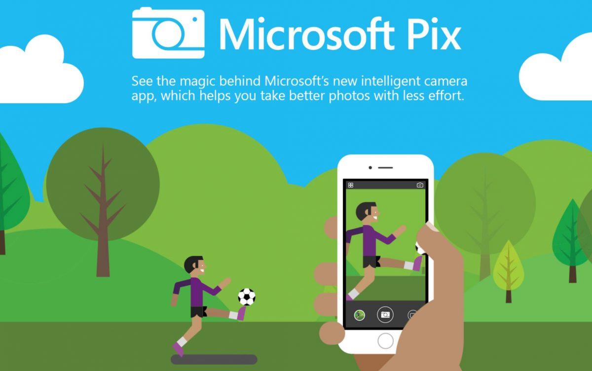 برنامه Microsoft Pix در IOS بروز رسانی شد.