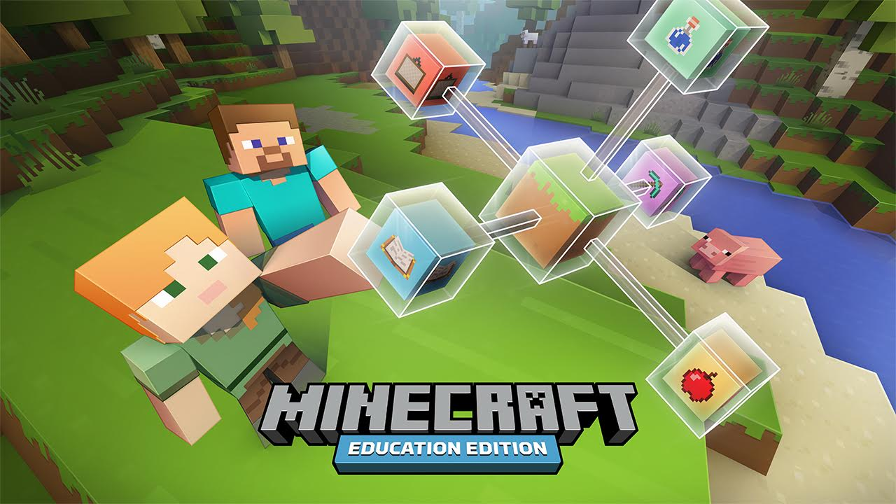 New 'Geometry' World And Lessons Available On Minecraft Education Edition