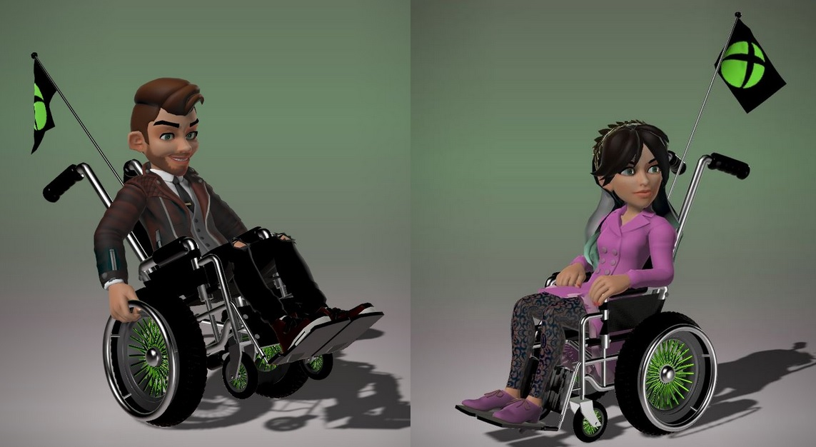 microsoft is adding wheelchair support in xbox avatars