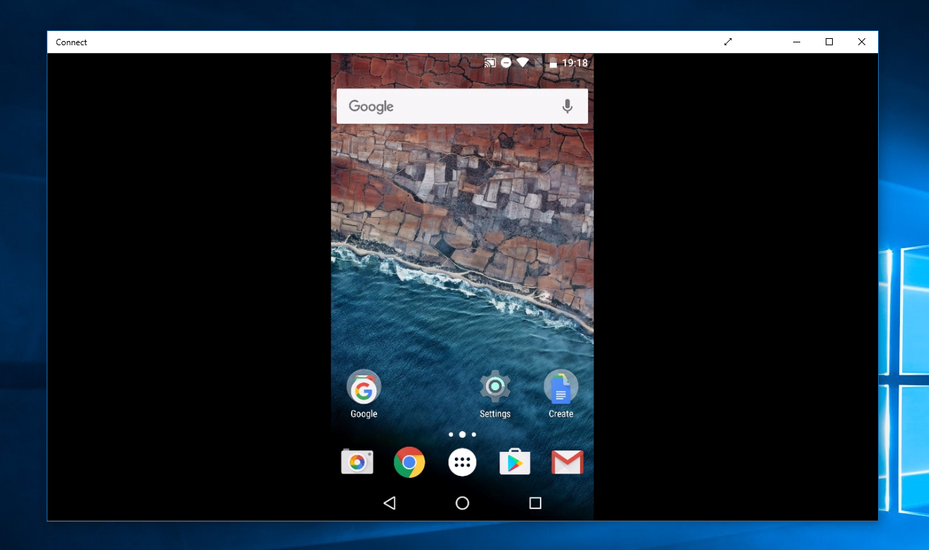 How to cast your Android screen to a Windows 10 PC