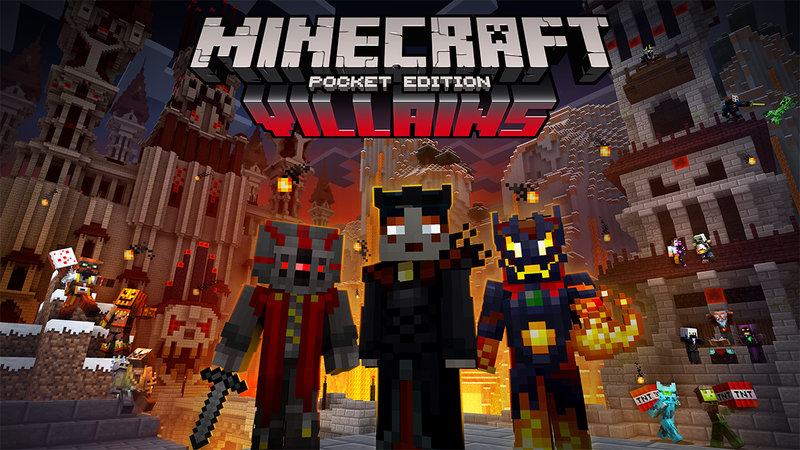 Villains Skin Pack Announced For Minecraft Pocket Edition