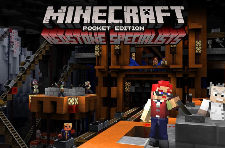 Mojang announces Redstone Specialists skin pack and Battle Map Pack 2 for Minecraft 7