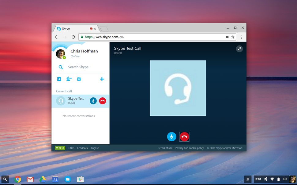 Skype for Web now supports voice call for Chromebook users - MSPoweruser