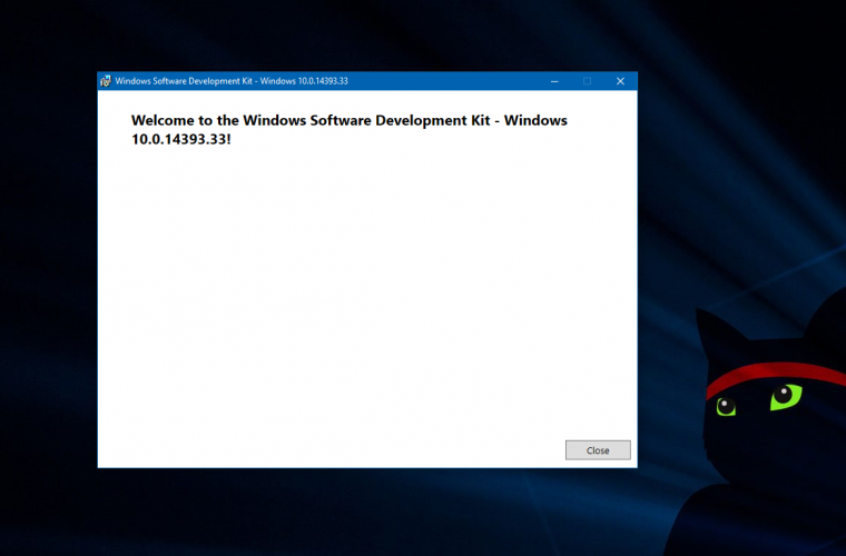 Windows 10 SDK and Mobile Emulator Build 14393 now available for download