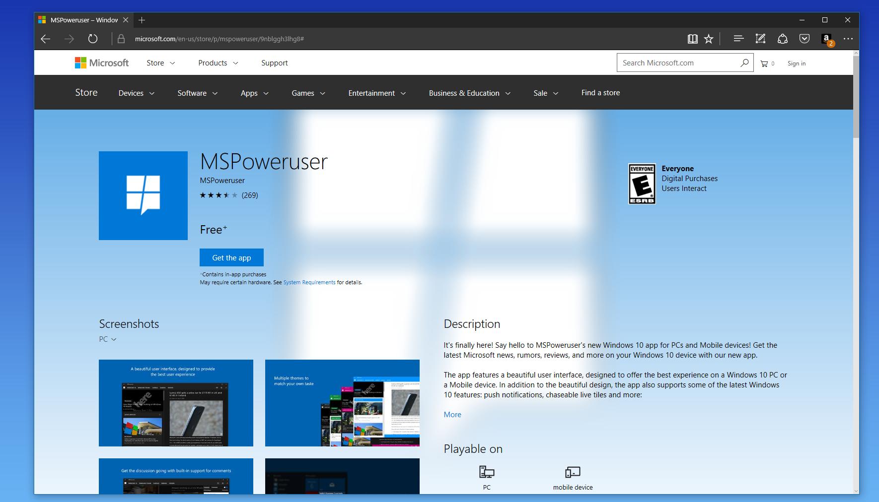 Windows Store gets a new design on the web - MSPoweruser