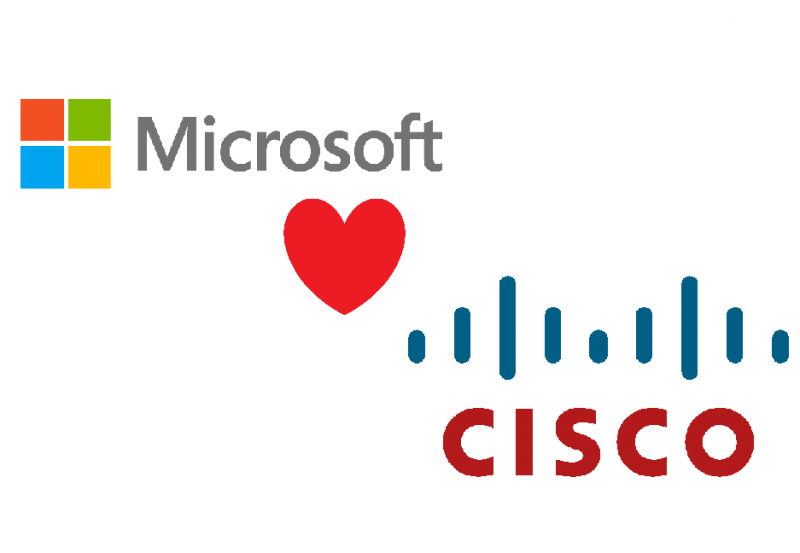Microsoft Heart Cisco