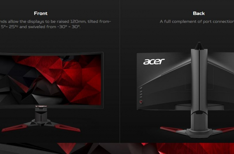 Acer announces new Predator gaming monitors with Tobii eye-tracking tech 3