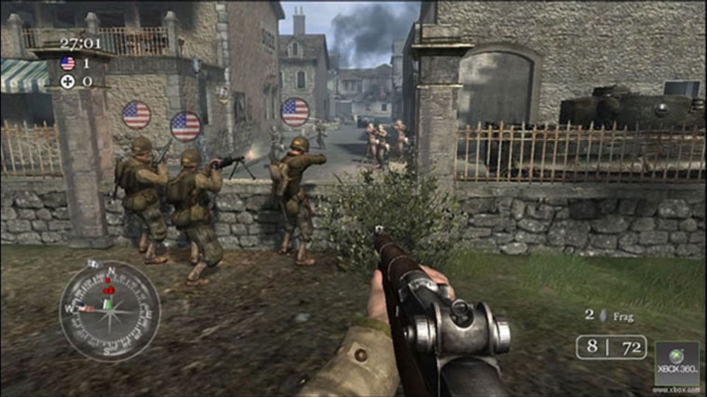 Call of Duty 2 now available on Xbox One Backward
