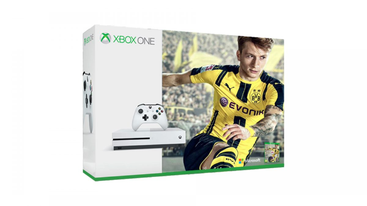 Microsoft Announces Two New Fifa 17 Xbox One S Bundles