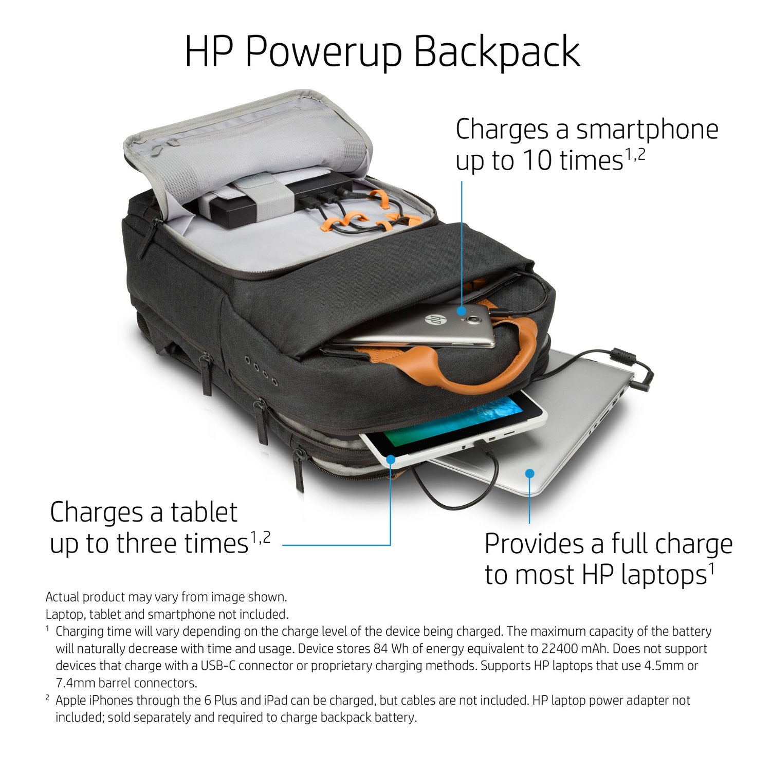 HP announces new Powerup Backpack for HP devices