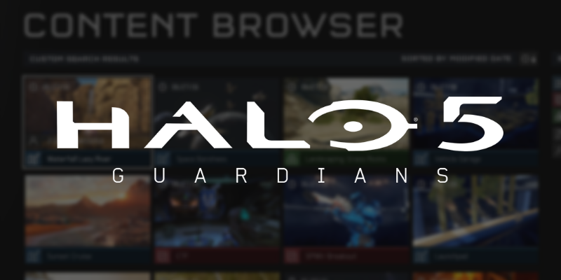 Halo 5 Content Browser featured