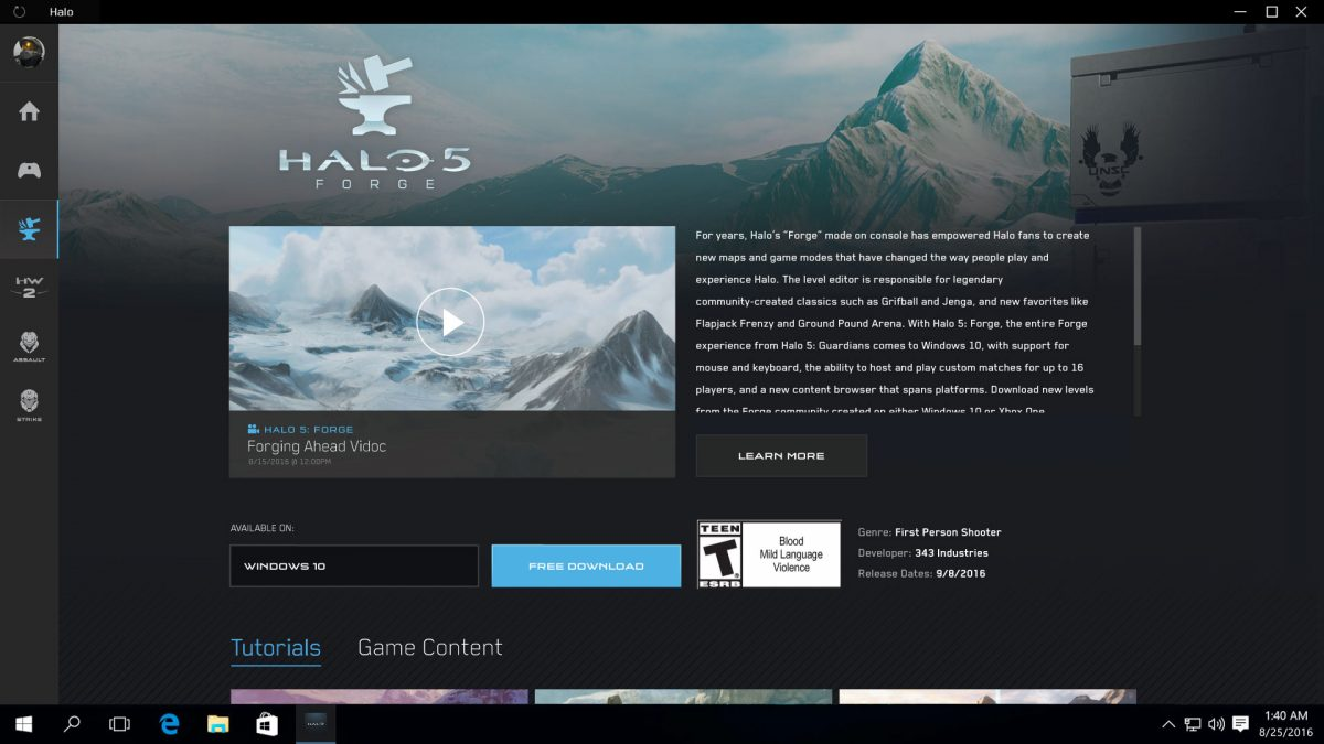 Halo Windows App Download