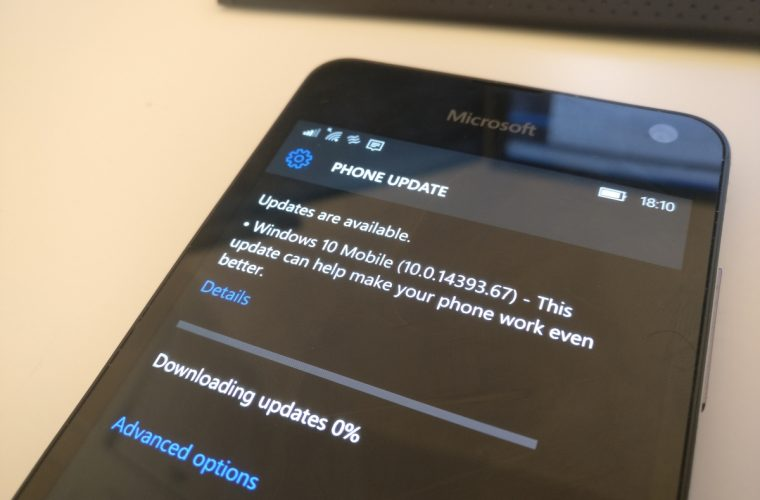 Windows 10 Mobile Build 14393.448 released to the public 3