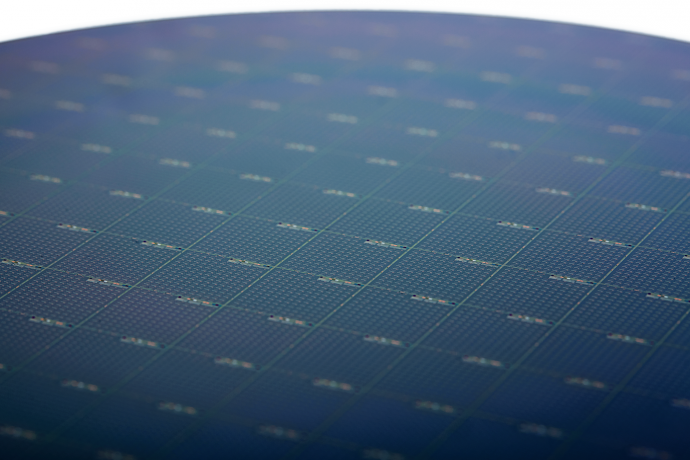 Intel Silicon Photonics Wafer