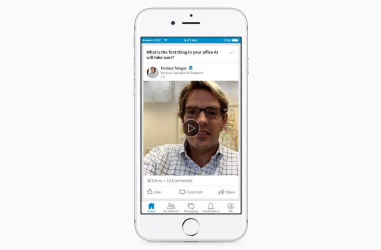 LinkedIn rolls out native video sharing 3