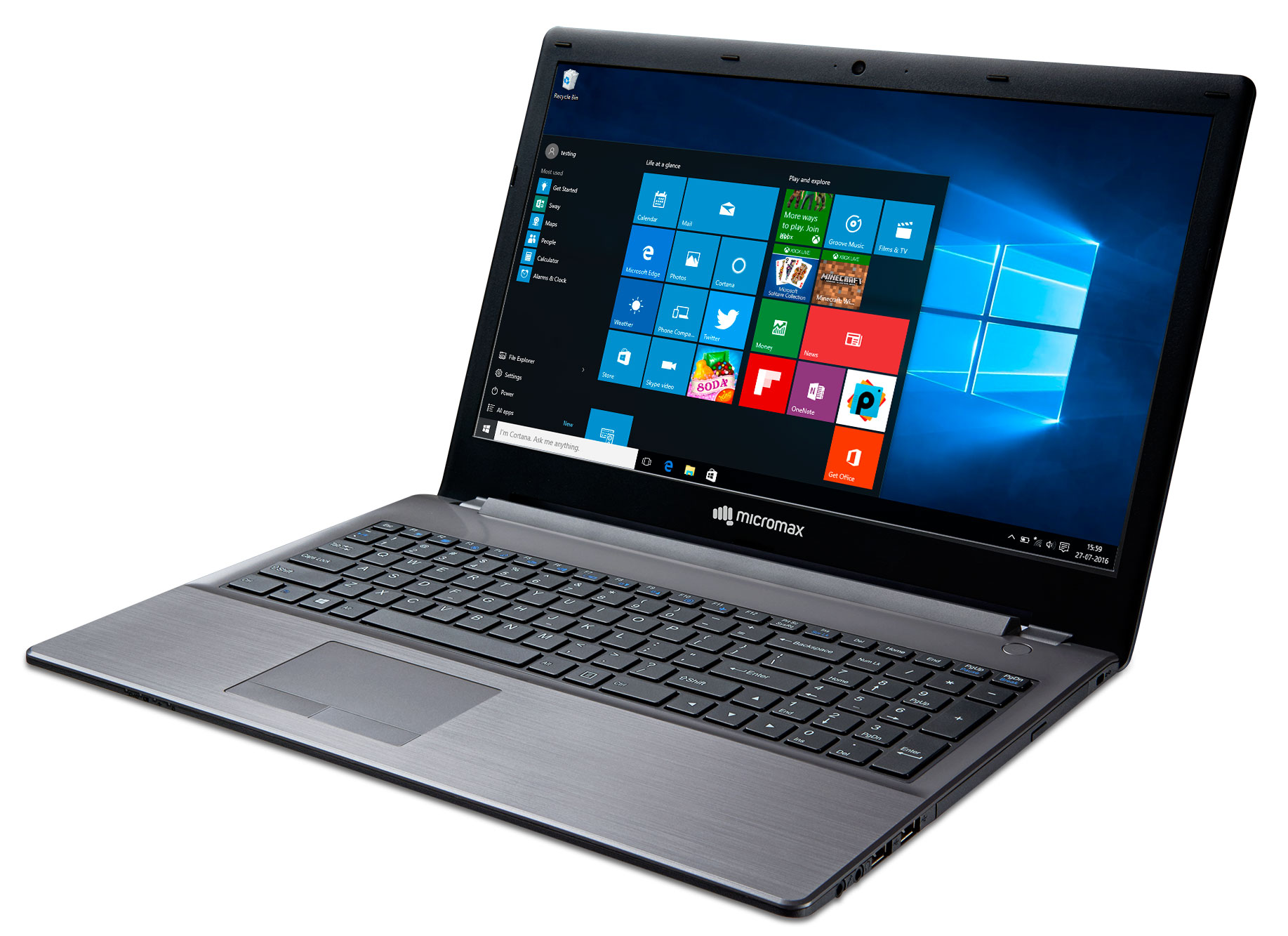 Micromax Announces New 15 Inch Windows 10 Laptop Starting
