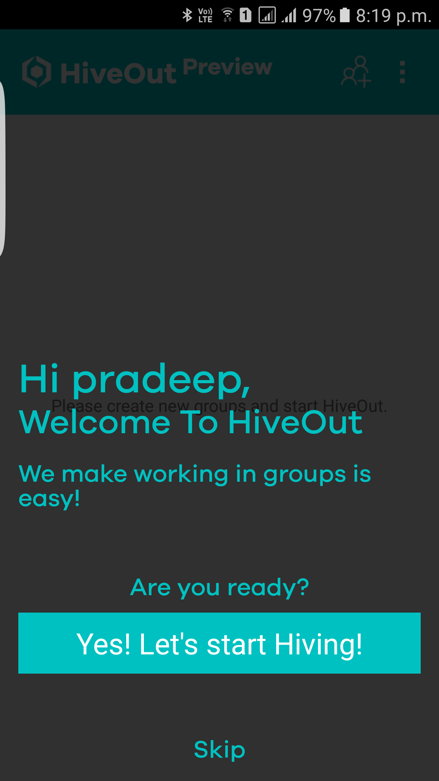 HiveOut group collaboration app officially launched on Microsoft Garage 1
