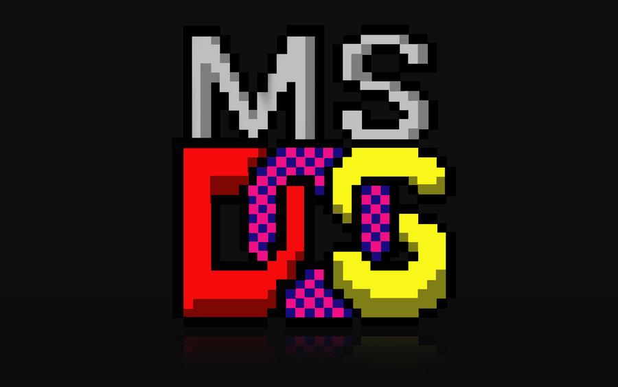 Microsoft MS DOS Logo