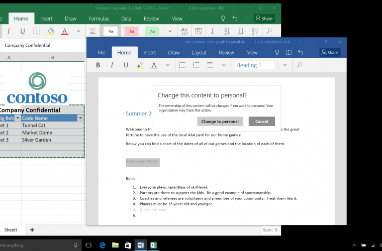 Microsoft Office Insider Build 12703.20010 for Windows brings new features and fixes 5
