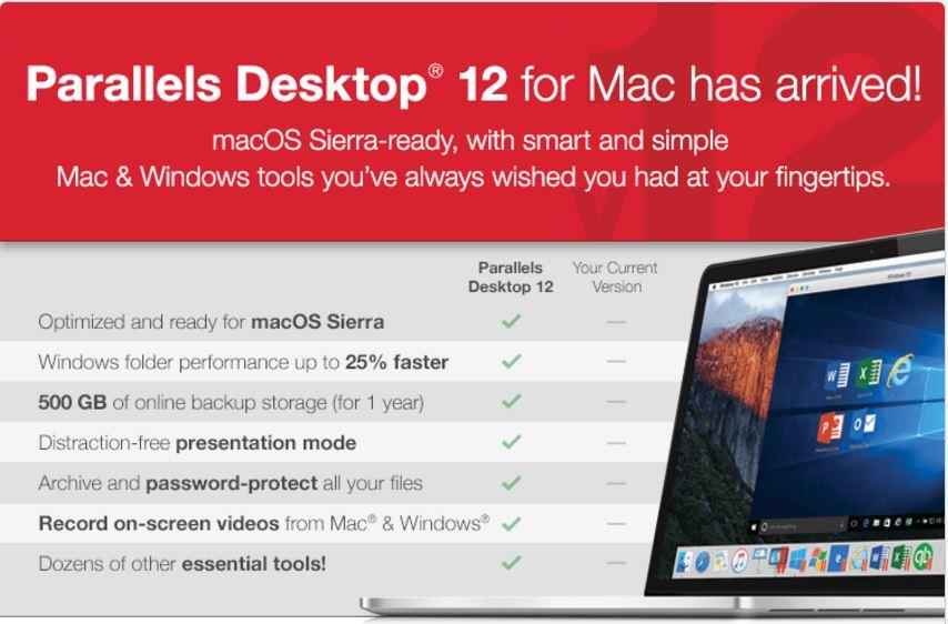 Parralels Desktop for Mac
