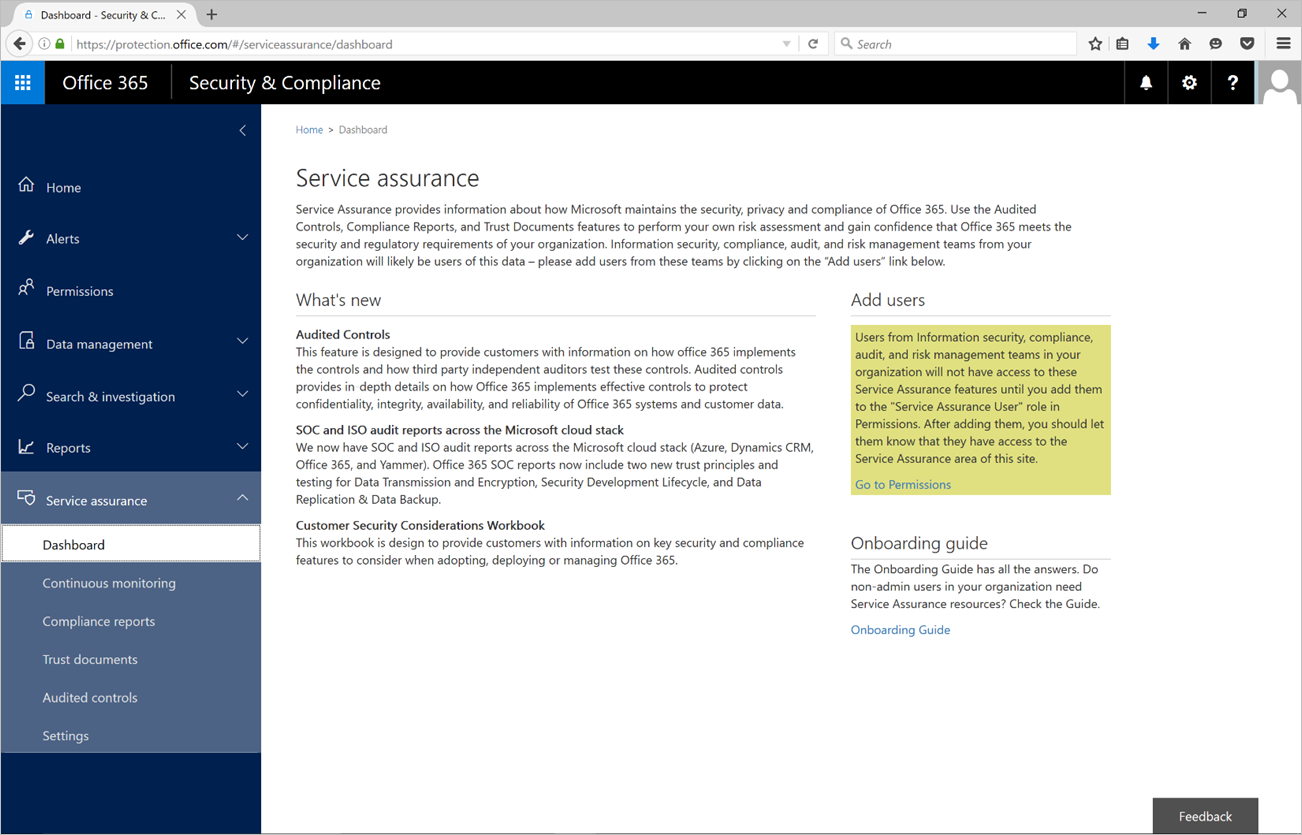 Microsoft releases Service Assurance Dashboard in Office 365 ...