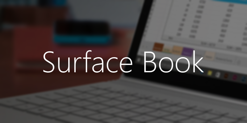Surface Book featured image