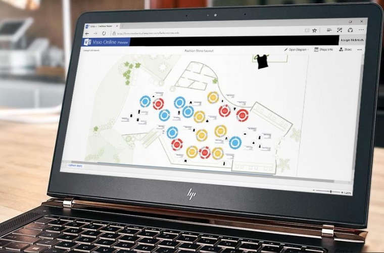 Microsoft announces public preview of Visio Online 9