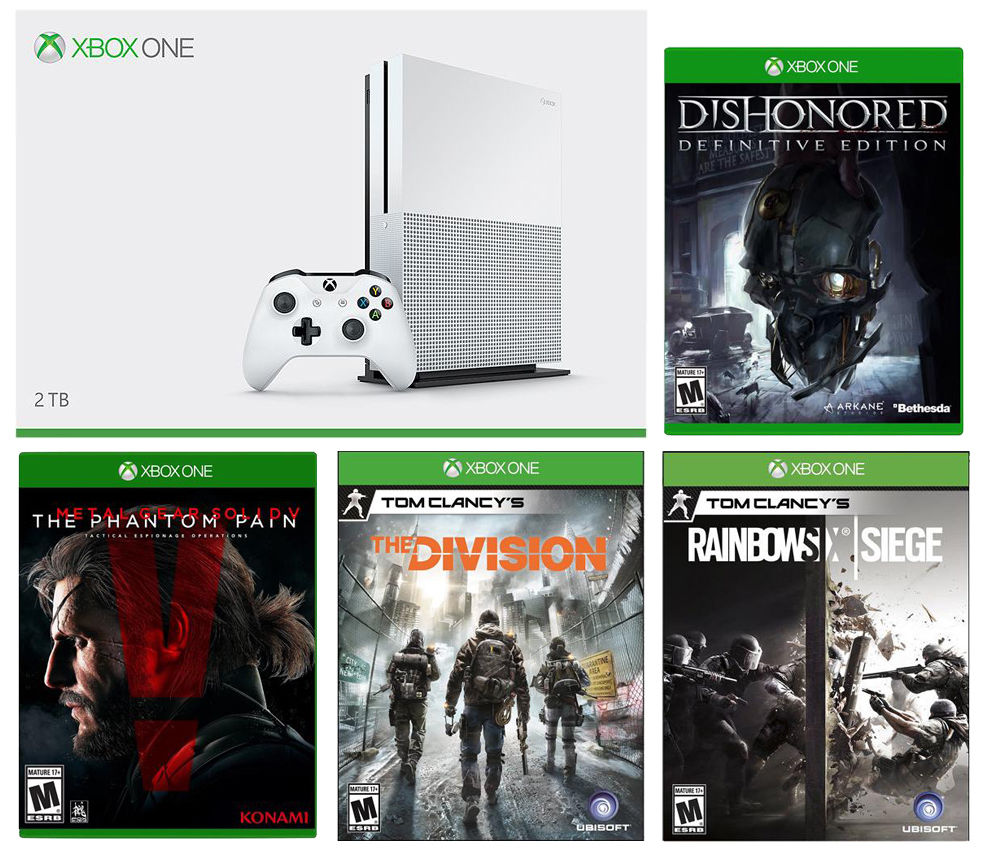 Xbox One S 2TB Bundle