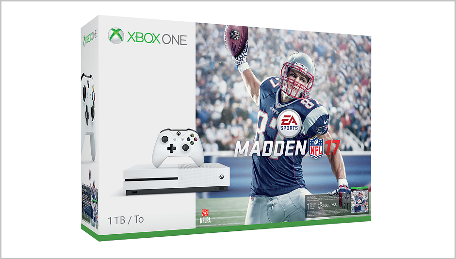 Xbox One S Madden NFL 17 Bundle