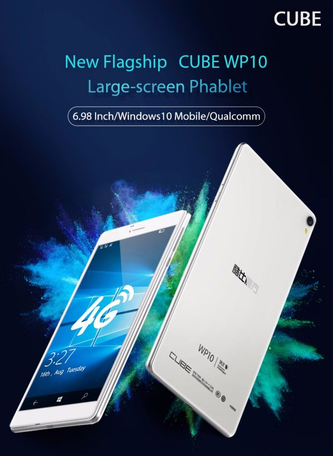 Ram For Sale >> China's CUBE WP10 7 inch Windows 10 Mobile handset now on ...