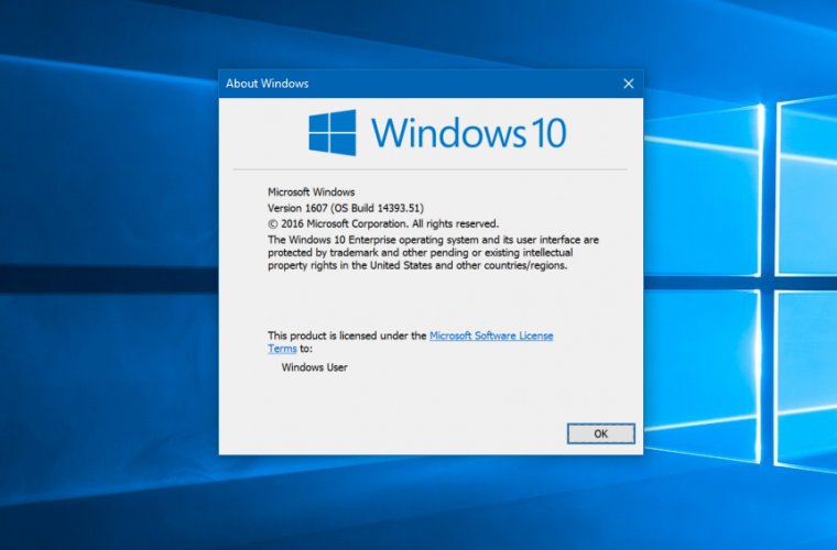 Windows 10 Anniversary Update Build 14393.51 released 14