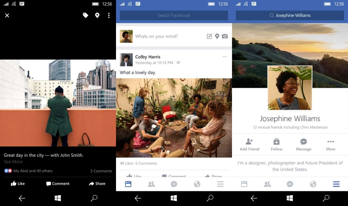 Facebook's new Windows 10 Mobile app comes out of beta ...
