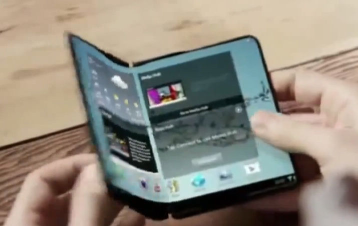 Samsung may be showing off a folding phone at CES for release in December 2018 15