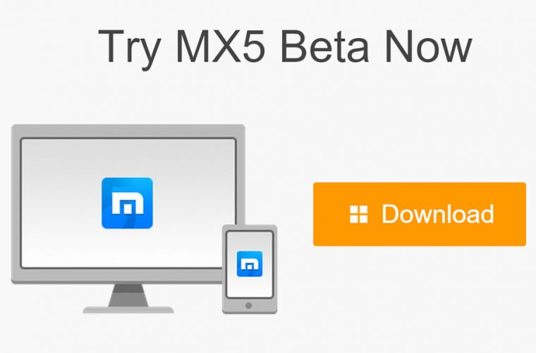 Maxthon MX5 beta now available to download 1
