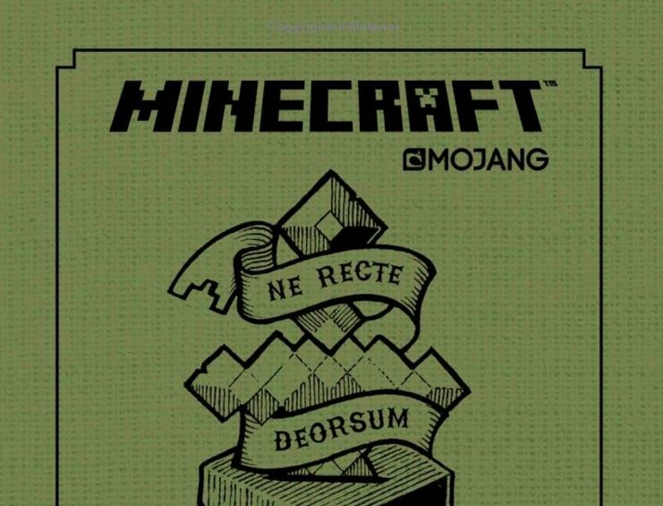 minecraft official book