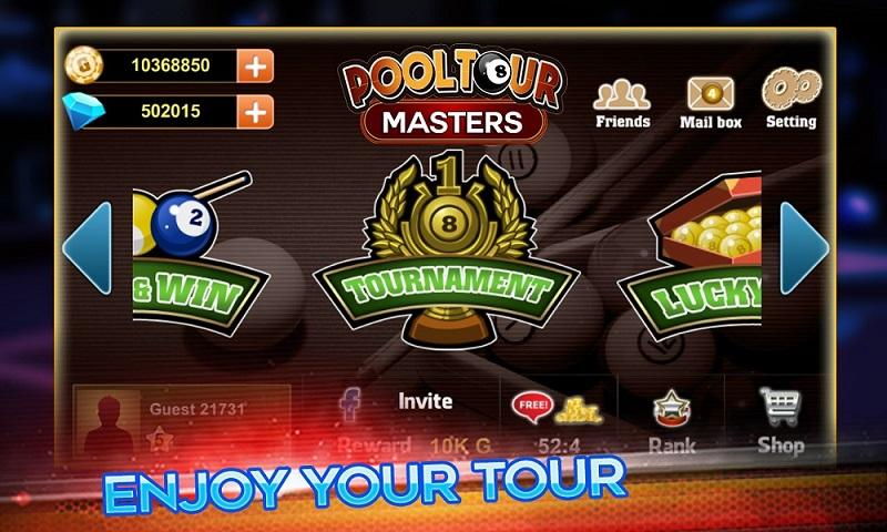 pool master tour