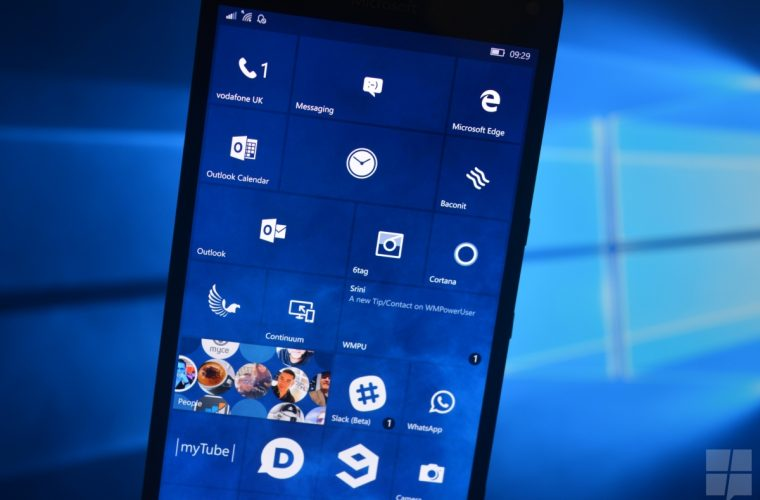 Microsoft releases Windows 10 Mobile Build 15051 to Insiders 26