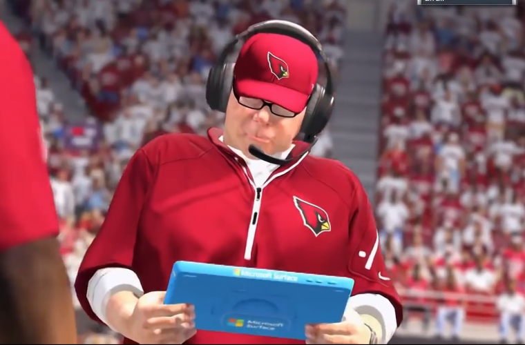 Surface Tablets Debut in Madden NFL 17 5