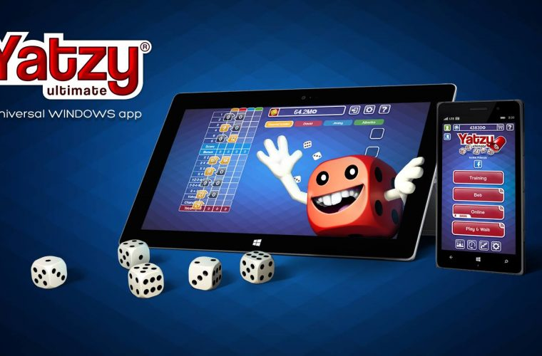 Developer Submission: A multi-platform dice game - Yatzy Ultimate now available to Windows 10 and Windows 10 Mobile 1
