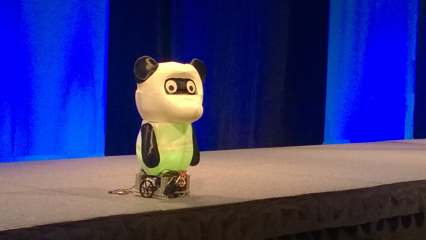 Bamboo Windows 10 Core IoT Robot