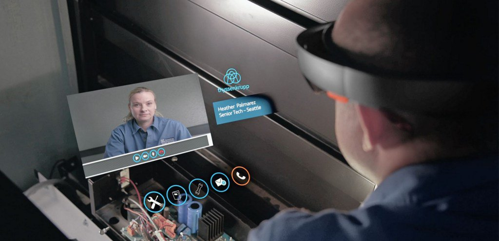 Hololens Elevator Service on Windows 10 Ui Design