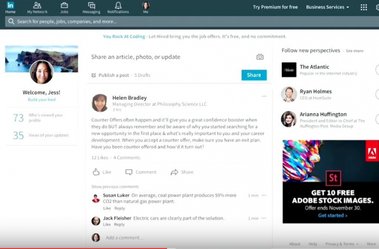 LinkedIn app stops working on Windows 10, directs users to the LinkedIn website 7