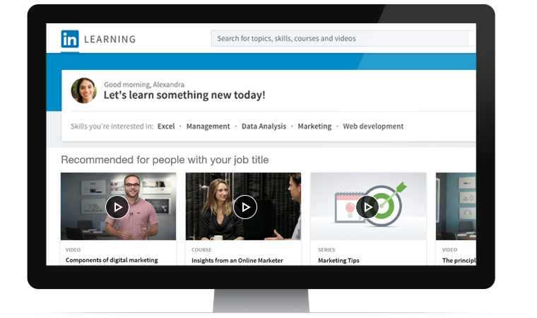 LinkedIn announces LinkedIn Learning, a new online learning platform to develop skills and talent 1