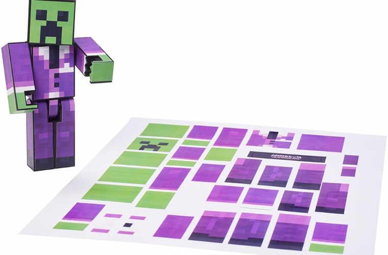Mattel to offer skin-printing service at MINECON 16