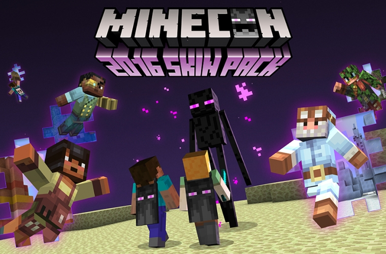 Mojang announces free MINECON 2016 Skins for Minecraft 10