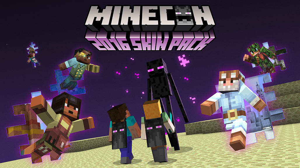 Mojang Announces Free MINECON Skins For Minecraft MSPoweruser - Skins para minecraft pe pc