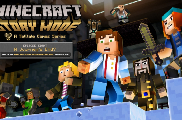 Netflix partners with Telltale to bring interactive narrative series Minecraft: Story Mode to its service 5
